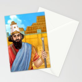 King of Babylon Stationery Cards