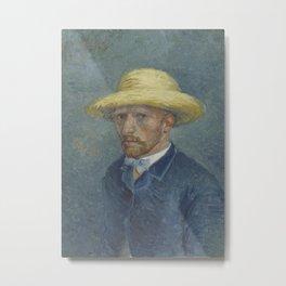 Portrait of Theo van Gogh Metal Print