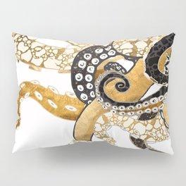 Metallic Octopus Pillow Sham