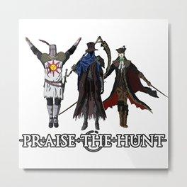 Praise the Hunt Metal Print