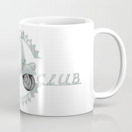 Vespa Club Manchester UK Coffee Mug