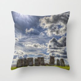 Stonehenge Summer Throw Pillow