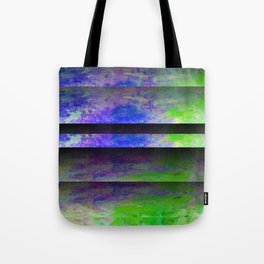 Green Color Blinds Tote Bag