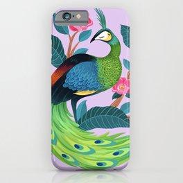 Java Peafowl iPhone Case