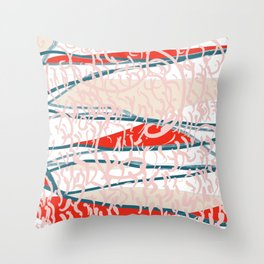 Pause and Repeat Throw Pillow
