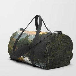 The Sandy River I - nature photography Duffle Bag