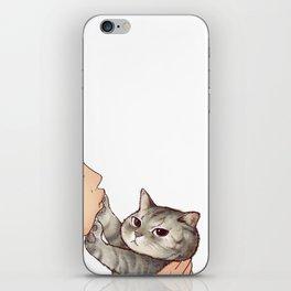 cat : hmmmmm! iPhone Skin