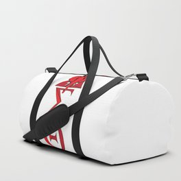 Elephant Delta Triangle Sigma Red Theta Duffle Bag