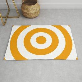Target (Orange & White Pattern) Rug