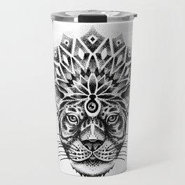 Trance tiger Travel Mug