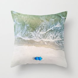 Isle of Palms Throw Pillow