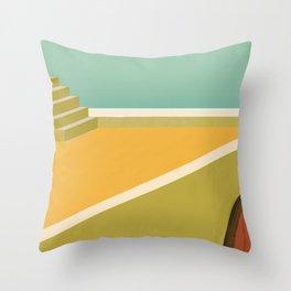Solarium on the Roof Throw Pillow