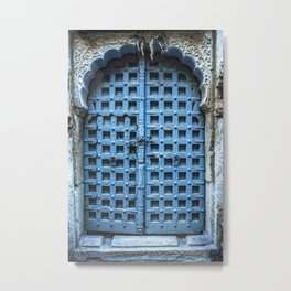 Doors Of India 1 Metal Print