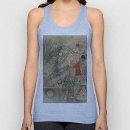 Paul Klee - Christmas Picture Unisex Tank Top