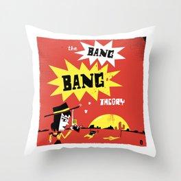 The Bang Bang Theory Throw Pillow