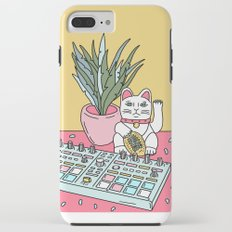 Sad cat pad iPhone 8 Plus Tough Case