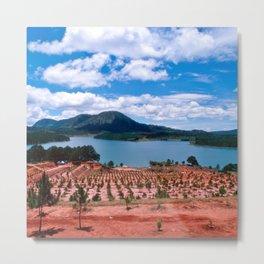 Magic Lake of Central Highland in Vietnam Metal Print