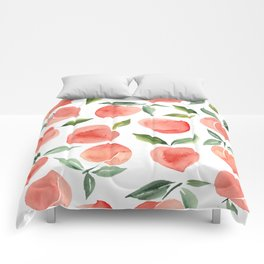 Peaches Comforters For Any Bedroom Decor Style Society6