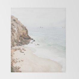 Malibu California Beach Throw Blanket