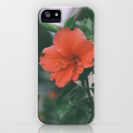 Hibiscus Bloom iPhone Case