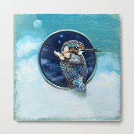 Space Bird 03 Metal Print