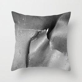 9/11 Memorial Scrap Metal Throw Pillow