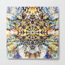 Neurotic Tectonics Metal Print