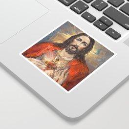 Cor Jesu Sacratissimum III Sticker