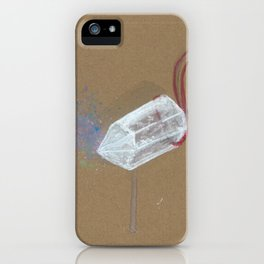 Quartz - These are the things I use to define myself iPhone Case