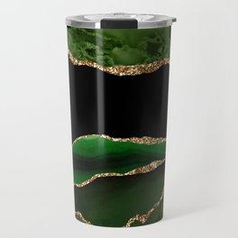 Emerald Marble Glamour Landscapes Travel Mug
