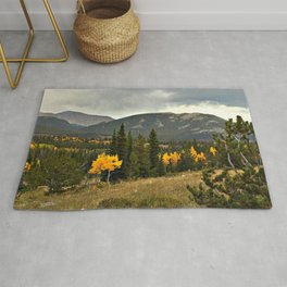 Rockies and Aspens Rug