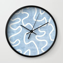 Line Abstract Art Wall Clock