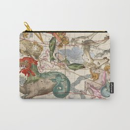 Vintage Constellation Map - Star Atlas Carry-All Pouch