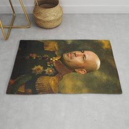 Joe Rogan Poster, Comedian, Podcast, Classical Painting as General, Regal art Rug