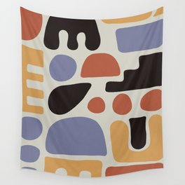 Shapes & Colors Wall Tapestry