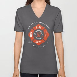 Firefighter Unisex V-Neck