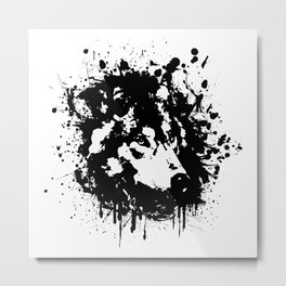 Wolf Spirit Animal Metal Print