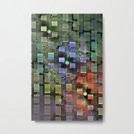 Blocked and Unbound Metal Print