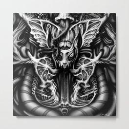 Alien Flesh #2 Metal Print