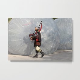 An Alternative Bagpipe Universe Metal Print