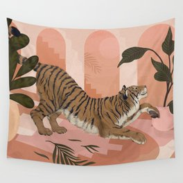 Easy Tiger Wall Tapestry