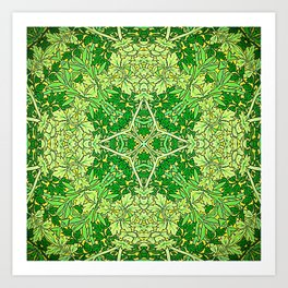 The Green Leaves of Summer Art Print