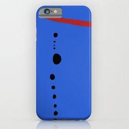 Bleu II - Joan Mirò iPhone Case