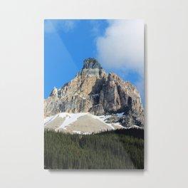 Rock Slide Metal Print