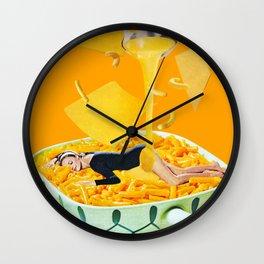 Cheese Dreams Wall Clock