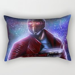 Stars Warriors Guardians of the Galaxy, Star Lord Space Fantasy Movies warrior film Rectangular Pillow