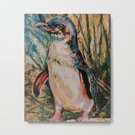 St Kilda Fairy Penguin Metal Print