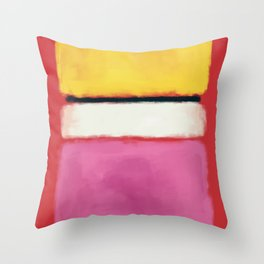 Rothko Inspired #24 Throw Pillow