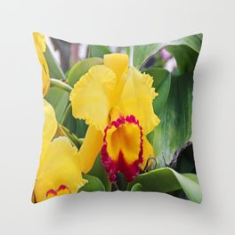 Sultry Songstress Throw Pillow