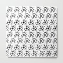 trad flower Metal Print